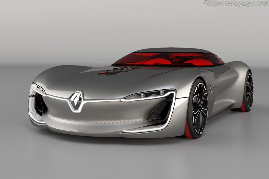 Click here to open the Renault Trezor Concept gallery