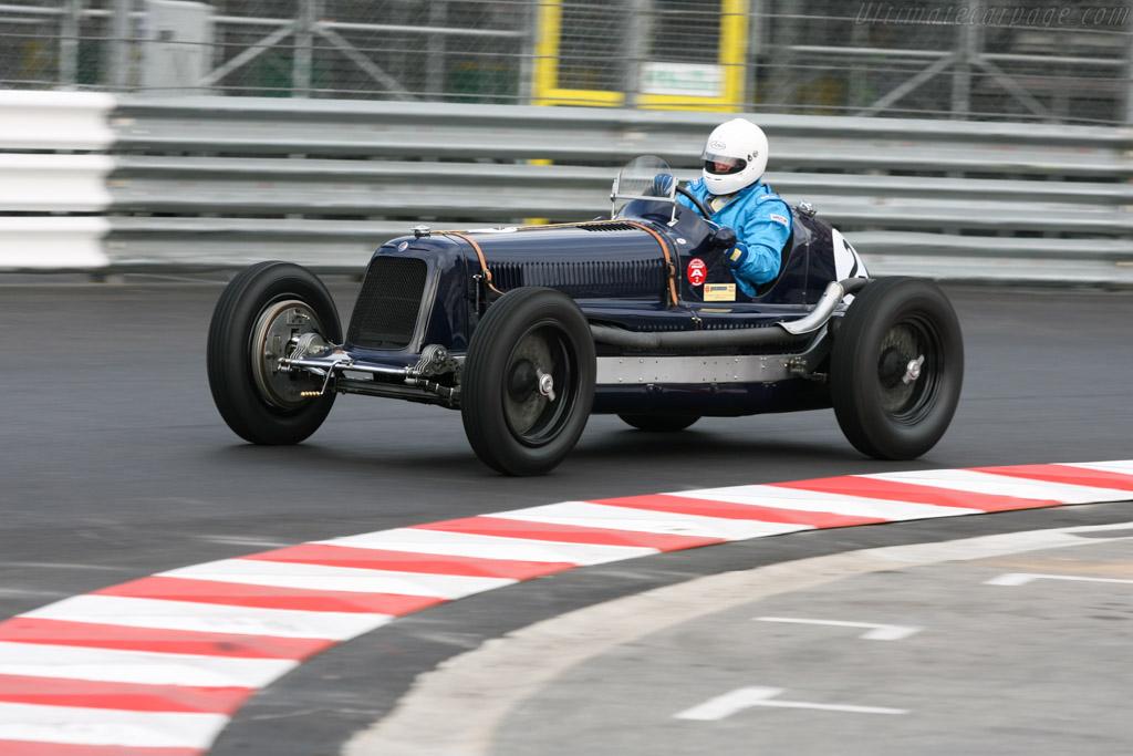 Maserati 8CM - Chassis: 3013 - Driver: Helmut Gassman  - 2006 Monaco Historic Grand Prix