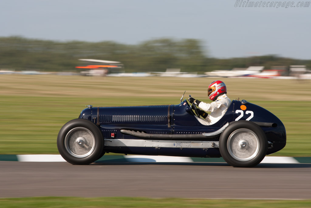 Maserati 8CM - Chassis: 3013 - Driver: Frank Stippler  - 2011 Goodwood Revival