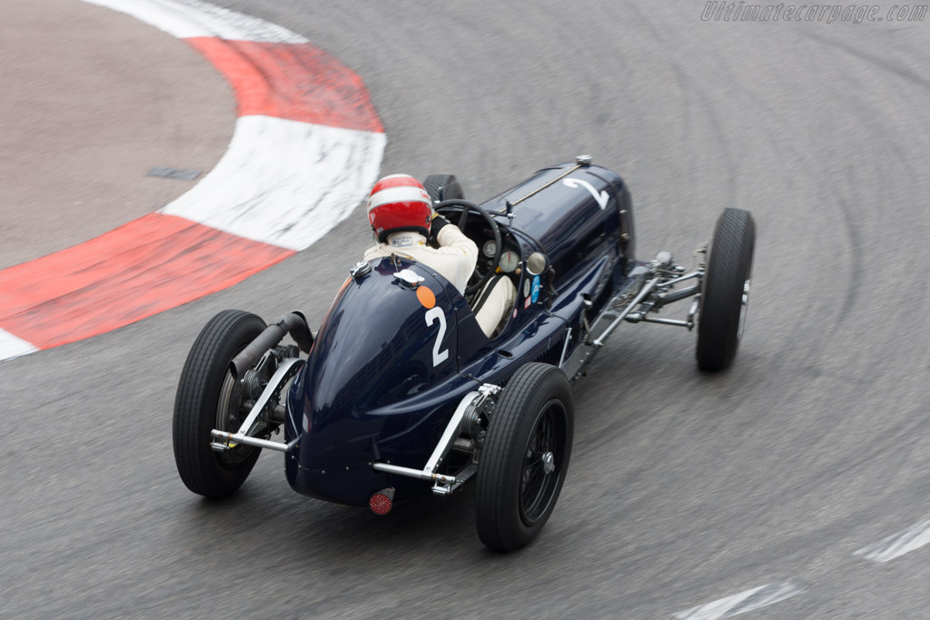 Maserati 8CM - Chassis: 3013 - Driver: Frank Stippler  - 2012 Monaco Historic Grand Prix
