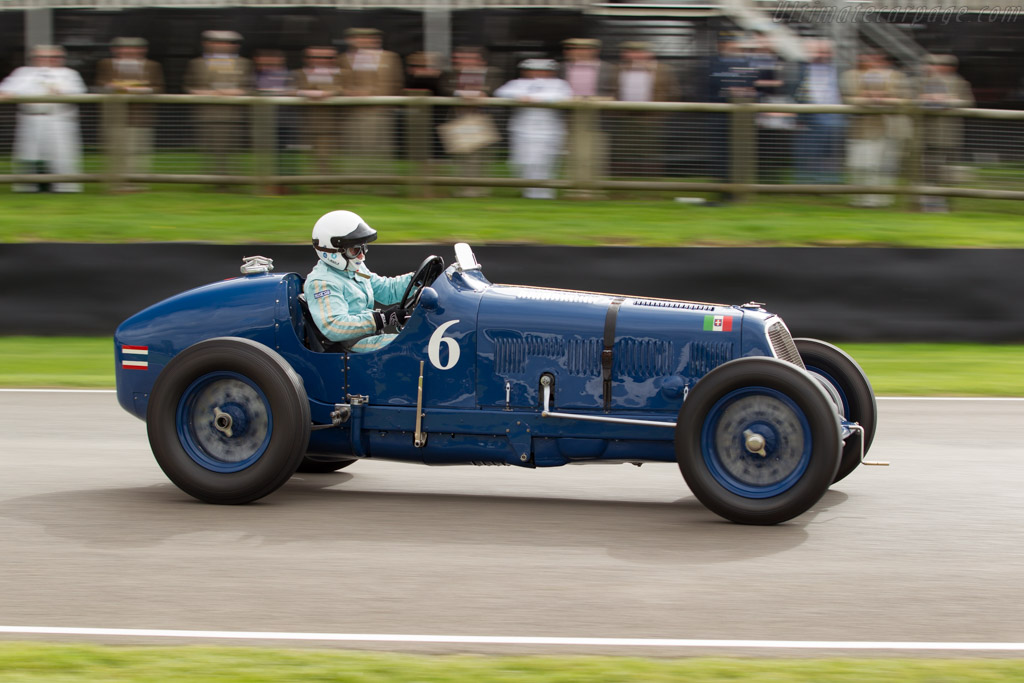 Maserati 8CM - Chassis: 3011   - 2015 Goodwood Revival