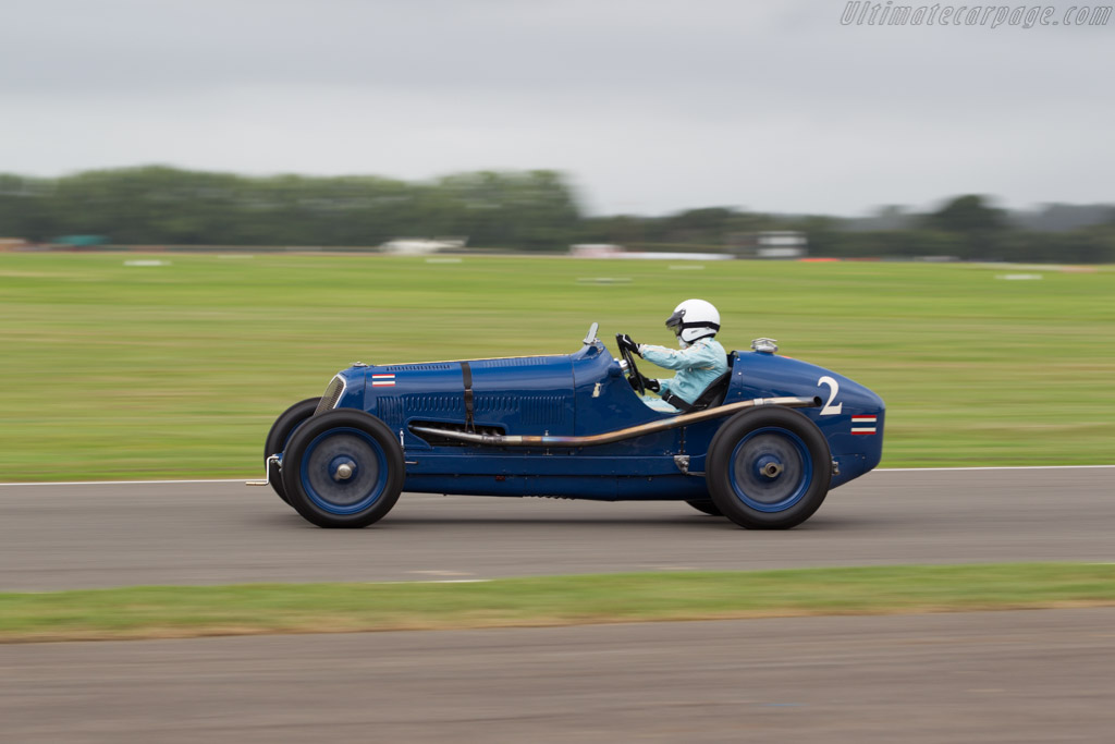 Maserati 8CM - Chassis: 3011   - 2016 Goodwood Revival