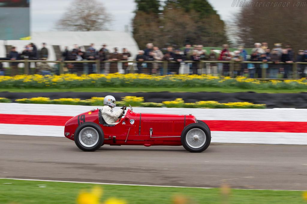 Maserati 8CM - Chassis: 3009   - 2017 Goodwood Members' Meeting