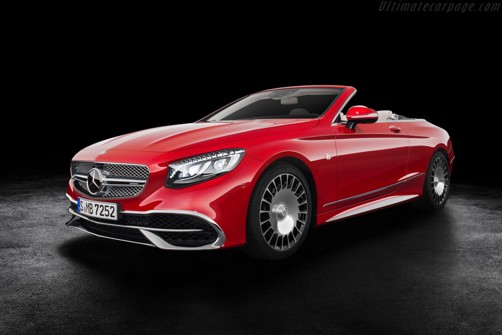 Click here to open the Mercedes-Maybach S 650 Cabriolet gallery