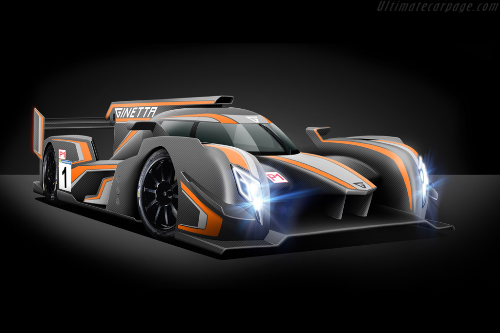 Click here to open the Ginetta LMP1 Mecachrome gallery