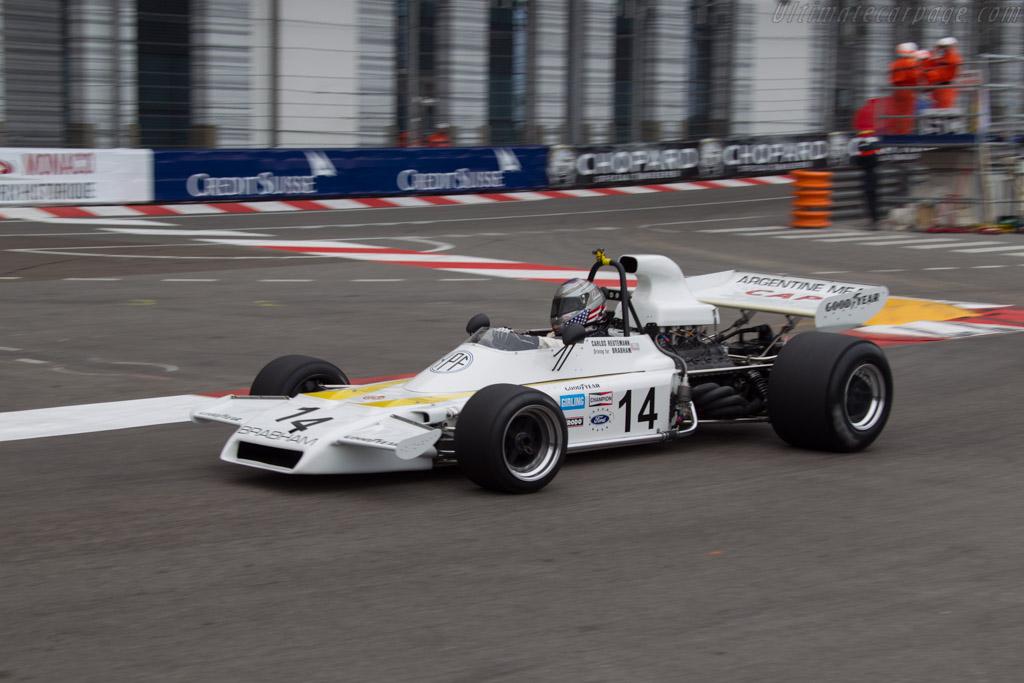 Brabham BT37 Cosworth - Chassis: BT37-2   - 2014 Monaco Historic Grand Prix