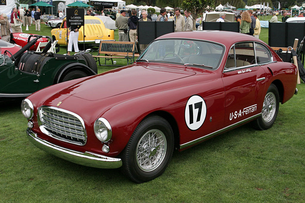 Click here to open the Ferrari 340 America Ghia Coupe gallery