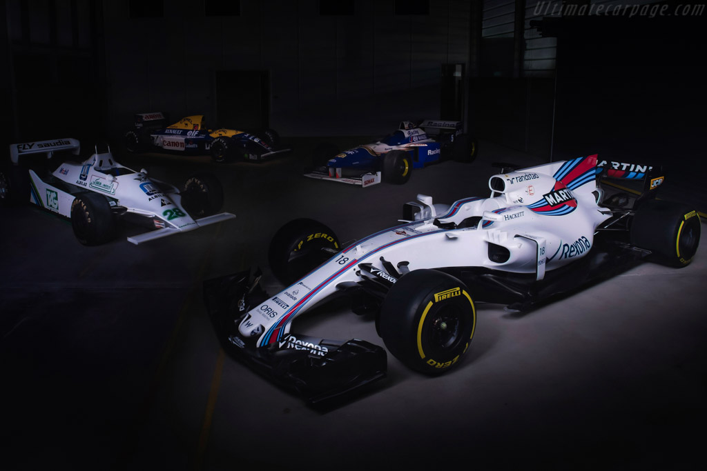 Click here to open the Williams FW40 Mercedes gallery