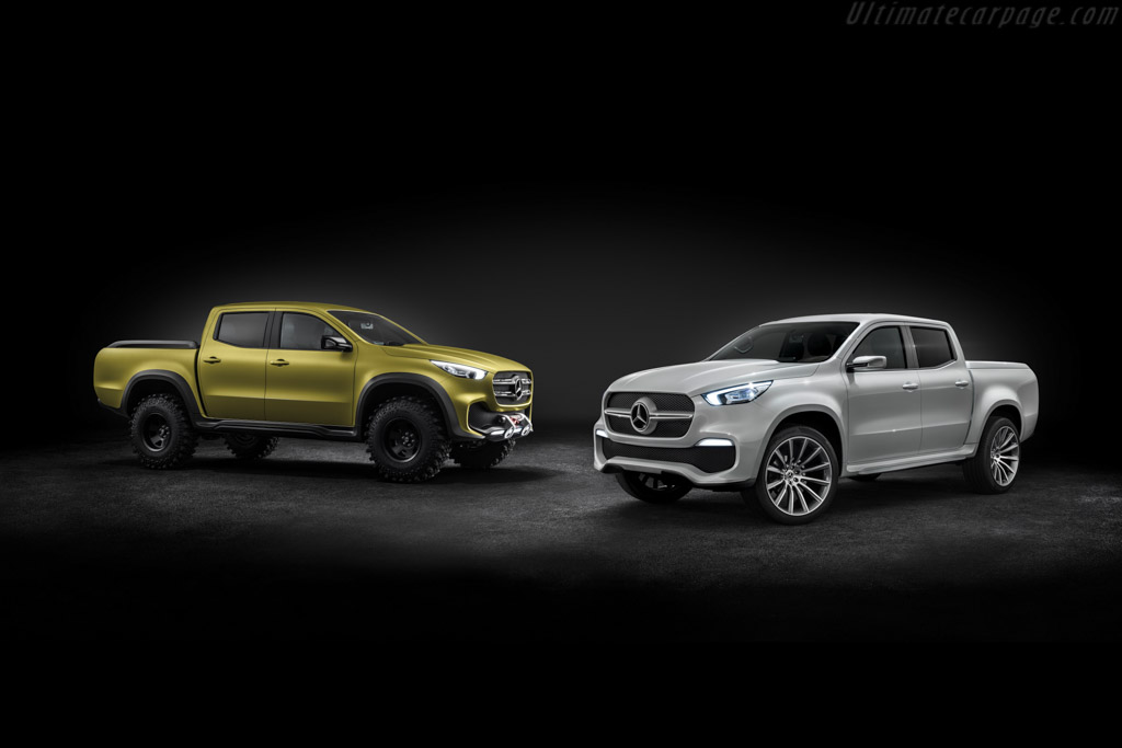 Benz Concept Car >> Mercedes-Benz X-Class Concept
