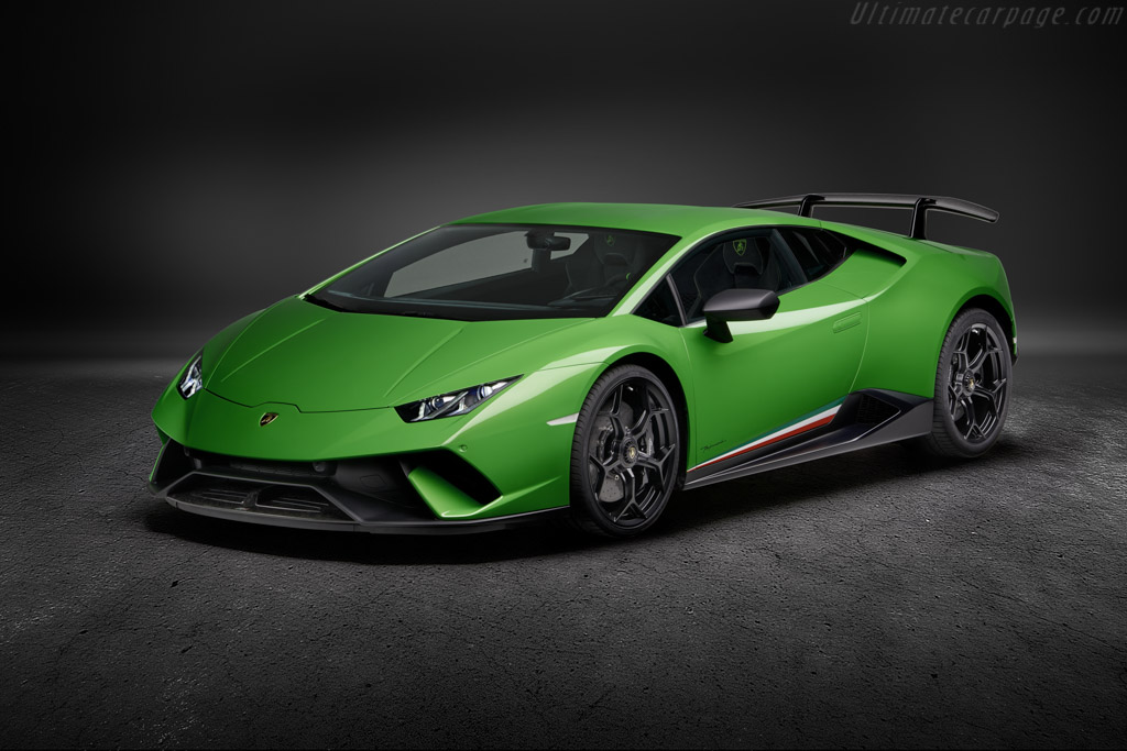 2017 Lamborghini Huracán Performante Coupe - Images, Specifications and Information
