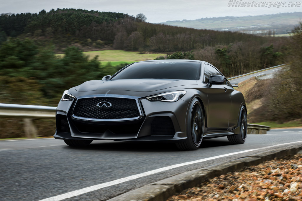 Click here to open the Infiniti Project Black S gallery