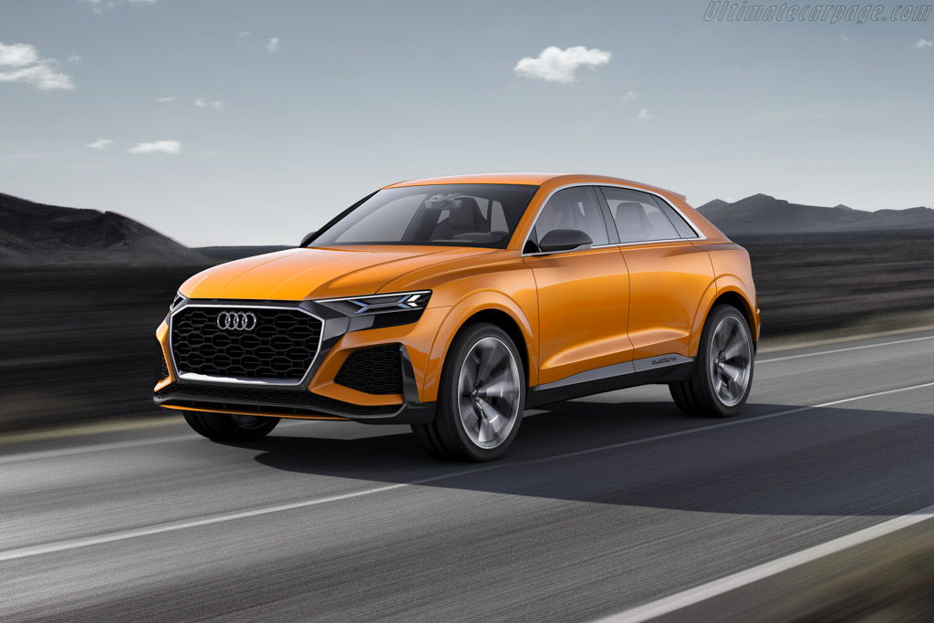 Click here to open the Audi Q8 Sport Concept gallery