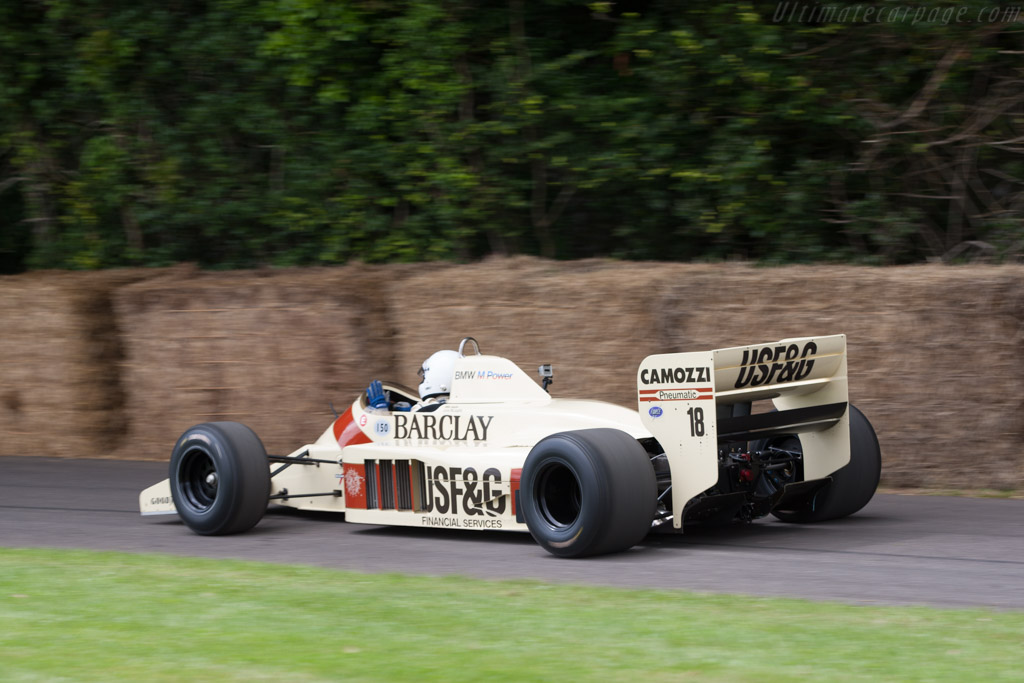 Arrows A9 BMW - Chassis: A9/1   - 2012 Goodwood Festival of Speed