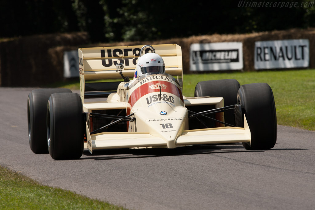 1986 Arrows A9 BMW