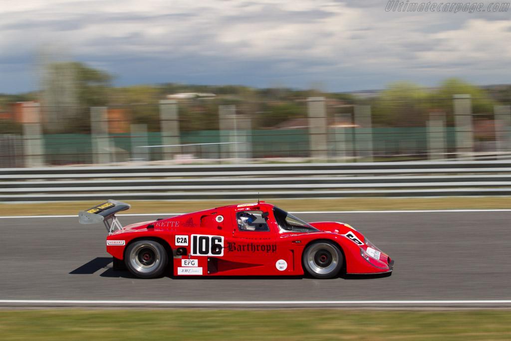 Tiga GC288 Cosworth - Chassis: 365 - Driver: Laurent Fort  - 2017 Jarama Classic