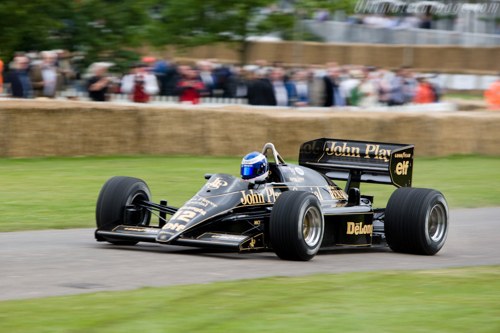 Lotus 98T Renault - Chassis: 98T - 4   - 2008 Goodwood Festival of Speed