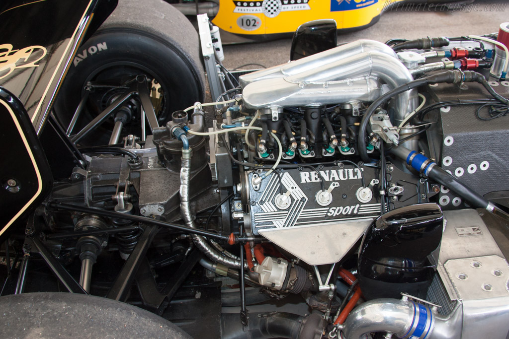 Lotus 98T Renault - Chassis: 98T - 3   - 2012 Goodwood Festival of Speed