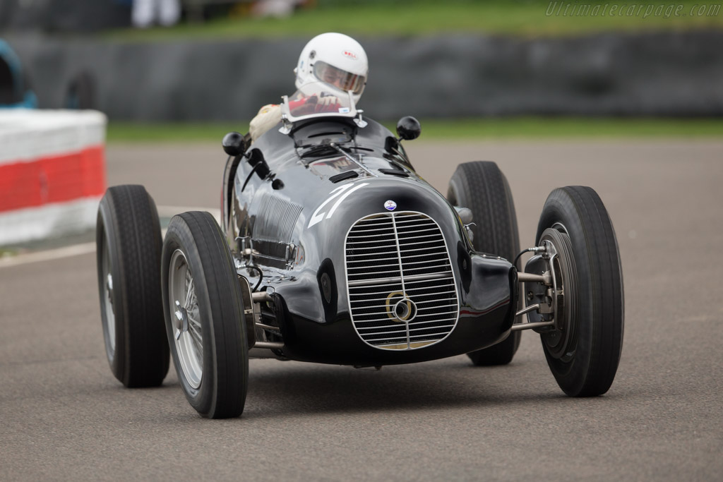 Maserati 8CL - Chassis: 3035   - 2017 Goodwood Members' Meeting