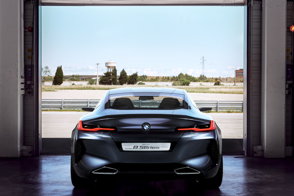 BMW 8 Series Coupe Design Study