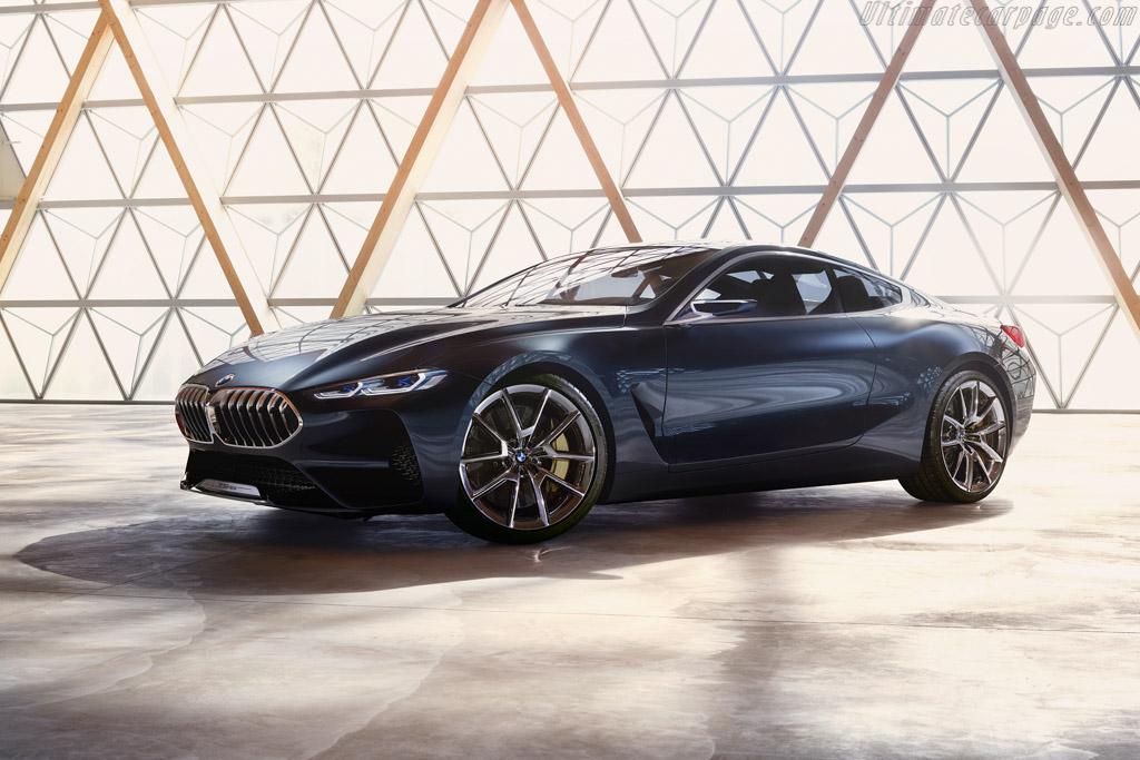 BMW 8 Series Coupe Design Study