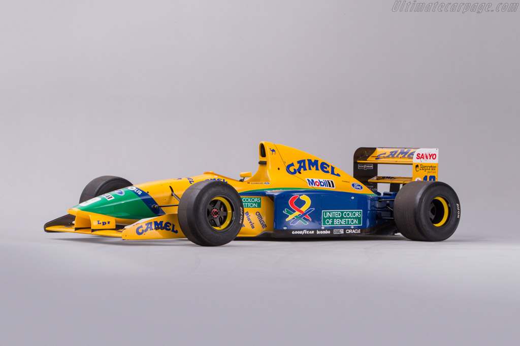 Click here to open the Benetton B191 Ford gallery