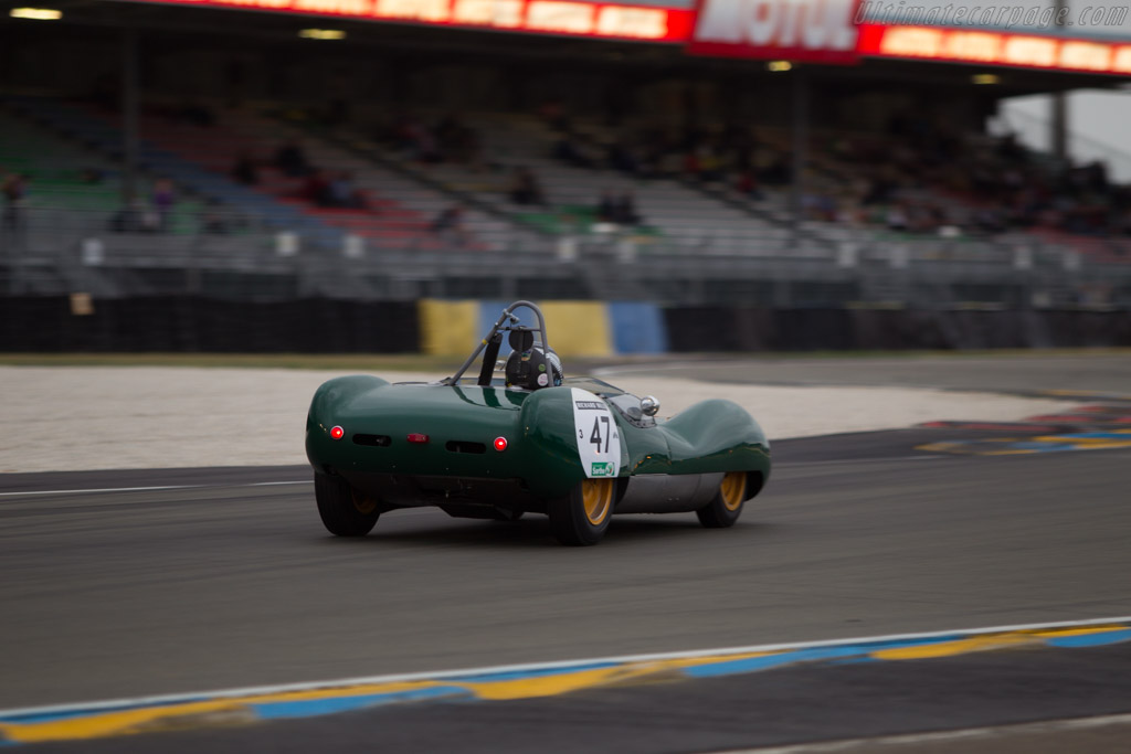 Lotus 17 Climax - Chassis: 655 - Driver: Roger Wills  - 2014 Le Mans Classic