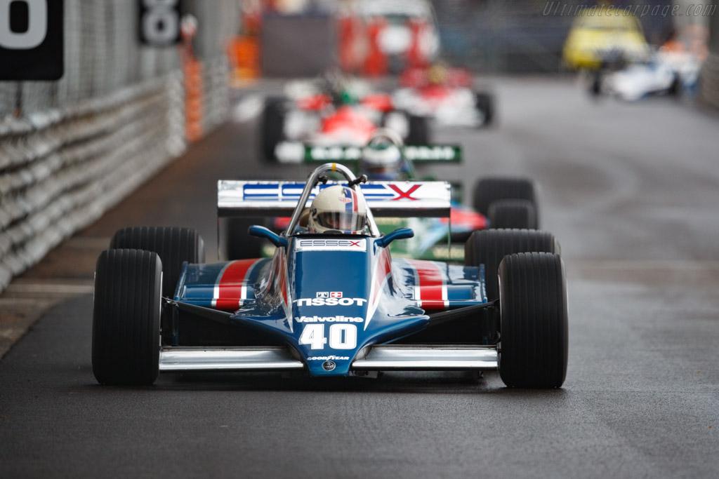 Lotus 81 Cosworth - Chassis: 81/1  - 2018 Monaco Historic Grand Prix