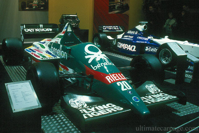 Car Benetton Renault B195