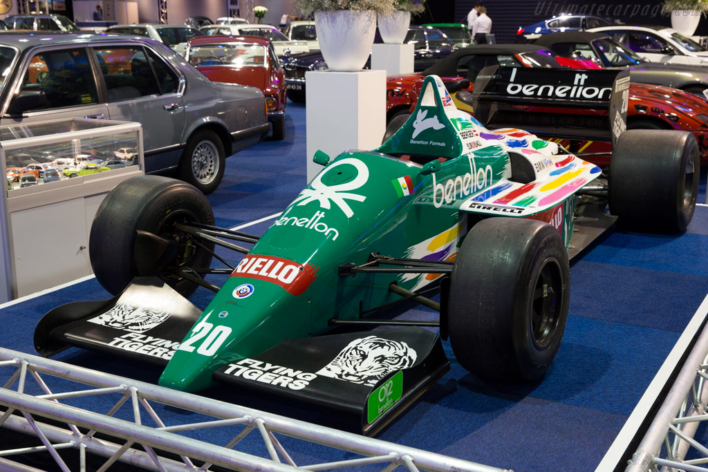 1986 Benetton B186 Bmw Images Specifications And