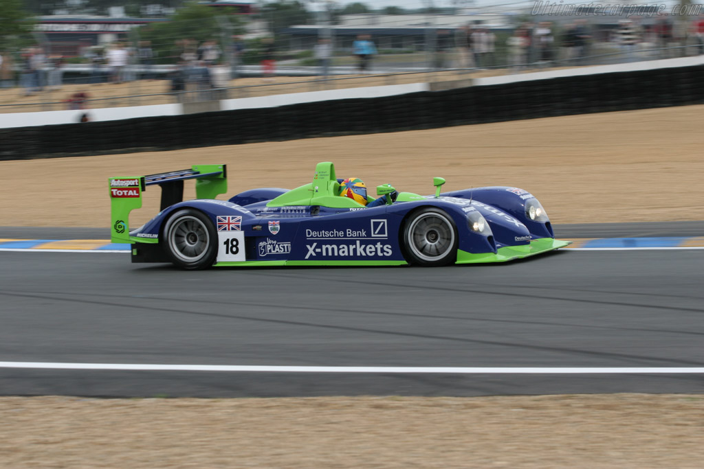 Dallara SP1 Judd - Chassis: DO-006   - 2005 Le Mans Test
