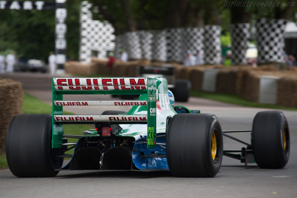 Jordan 191 Ford - Chassis: 191-06   - 2012 Goodwood Festival of Speed