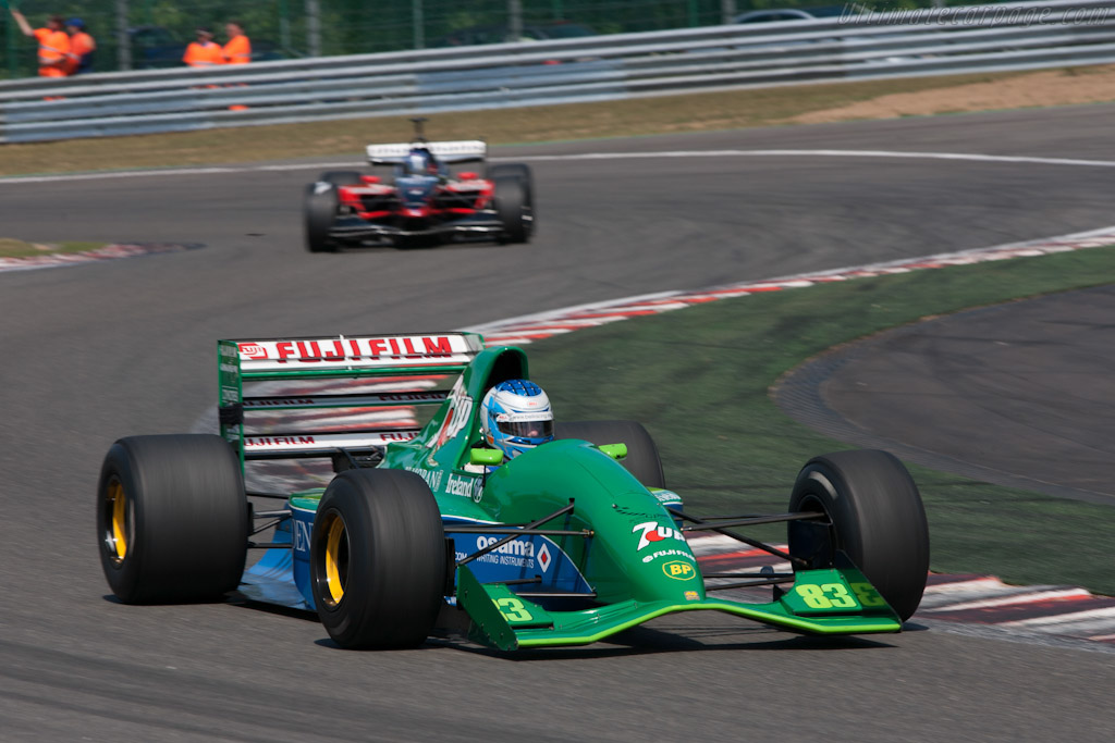 Jordan 191 Ford - Chassis: 191-06   - 2011 Spa Classic