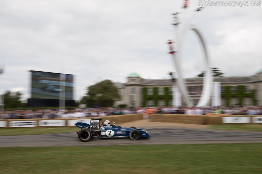 Tyrrell 003 Cosworth - Chassis: 003 - Driver: John Delane  - 2017 Goodwood Festival of Speed