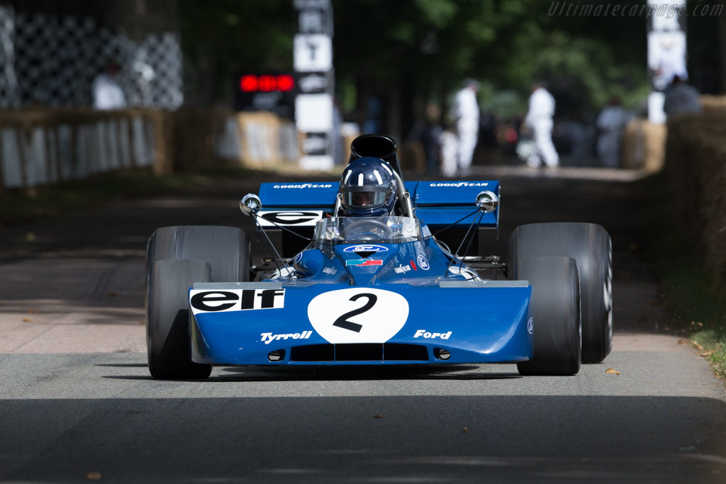 Tyrrell 003 Cosworth - Chassis: 003 - Driver: Damon Hill  - 2017 Goodwood Festival of Speed