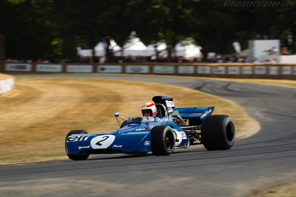 Tyrrell 003 Cosworth - Chassis: 003 - Driver: Tom Kristensen  - 2018 Goodwood Festival of Speed