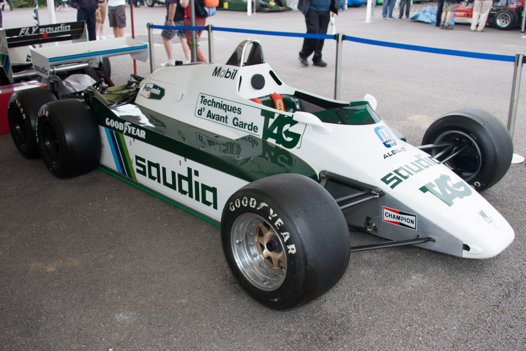 Williams FW08B Cosworth - Chassis: FW08-06   - 2012 Goodwood Festival of Speed