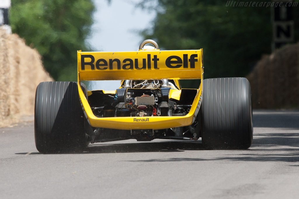 Renault RS 01 - Chassis: RS 01/04 - Driver: Rene Arnoux  - 2012 Goodwood Festival of Speed