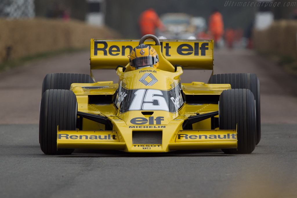 Renault RS 01 - Chassis: RS 01/04   - 2013 Goodwood Preview