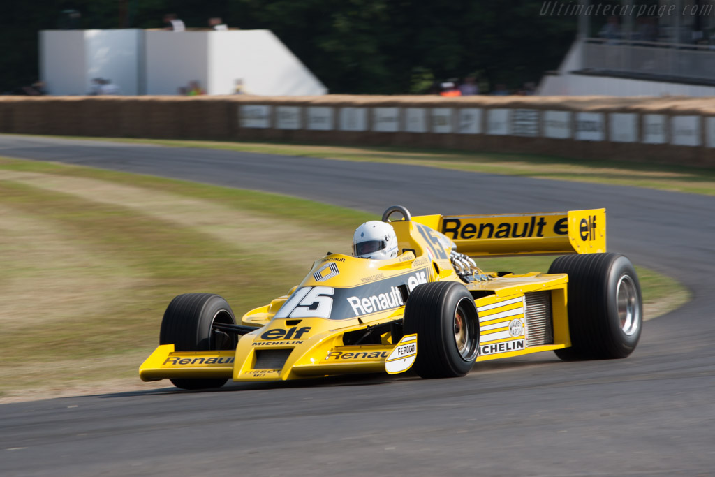 Renault RS 01 - Chassis: RS 01/04 - Driver: Rene Arnoux  - 2013 Goodwood Festival of Speed