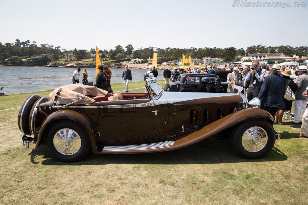 Delage D8 S Fernandez & Darrin Cabriolet - Chassis: 38229   - 2017 Pebble Beach Concours d'Elegance
