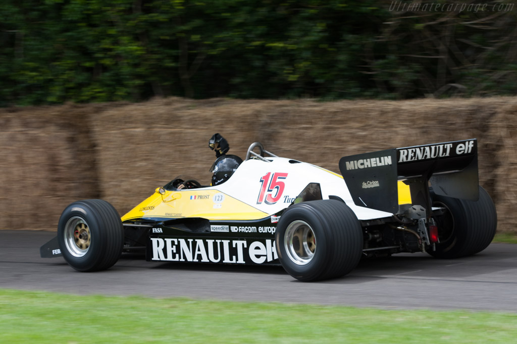 Renault RE40 - Chassis: RE40-04   - 2012 Goodwood Festival of Speed