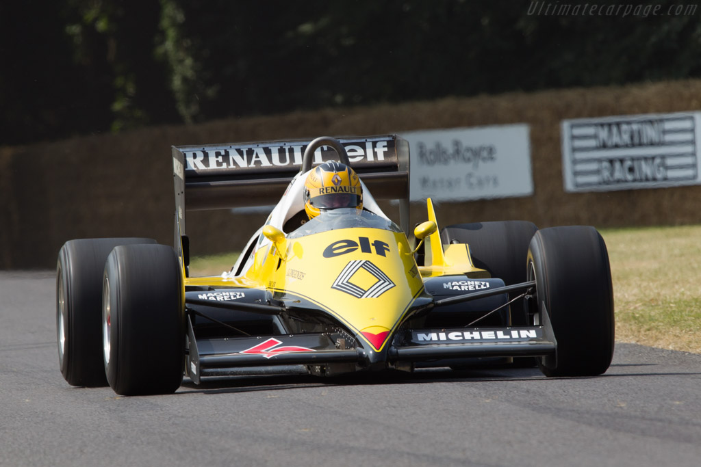 Renault RE40 - Chassis: RE40-04   - 2013 Goodwood Festival of Speed