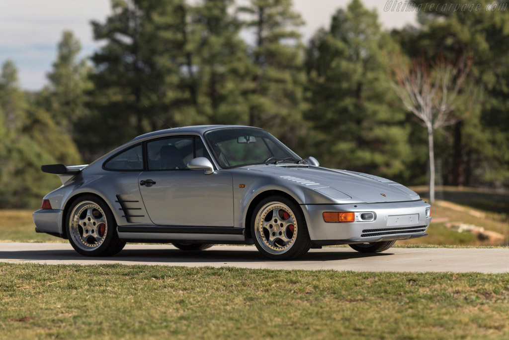 Porsche 911 Turbo 3.6 S Flachbau