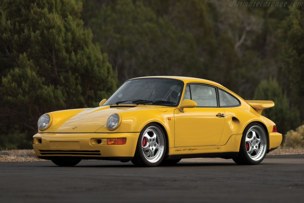 1993 Porsche 911 Turbo 33 S Leichtbau Images Specifications And