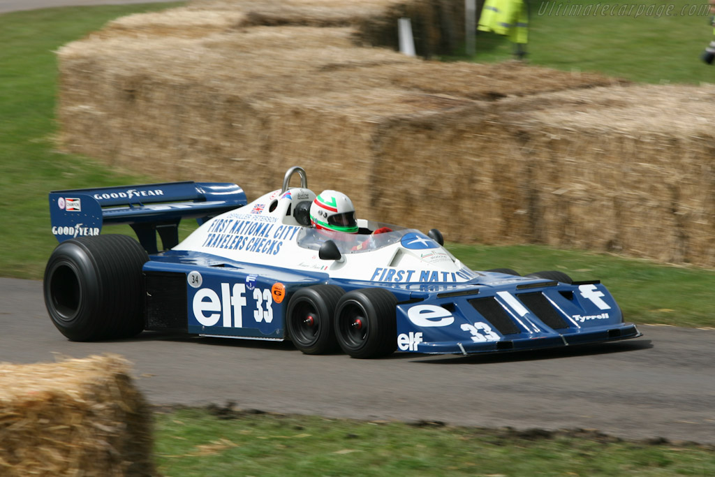 Tyrrell P34 Cosworth - Chassis: P34/5   - 2007 Goodwood Festival of Speed