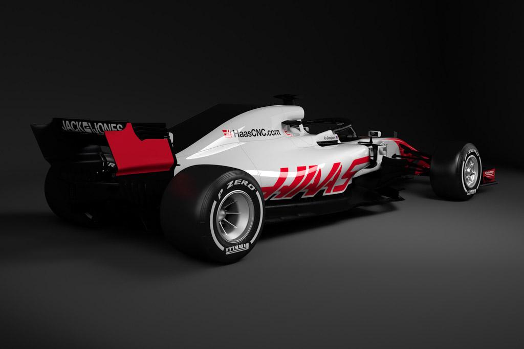 Haas VF-18 Ferrari