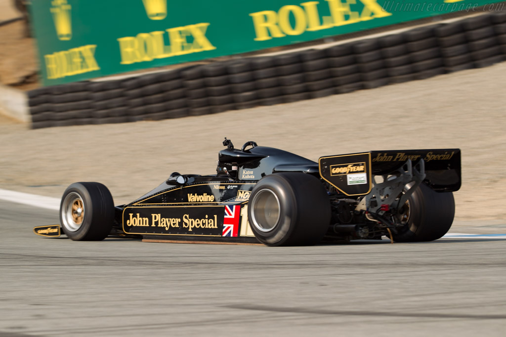 Lotus 78 Cosworth - Chassis: 78/4   - 2016 Monterey Motorsports Reunion