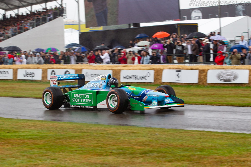 Benetton B194 Ford - Chassis: B194-05  - 2019 Goodwood Festival of Speed