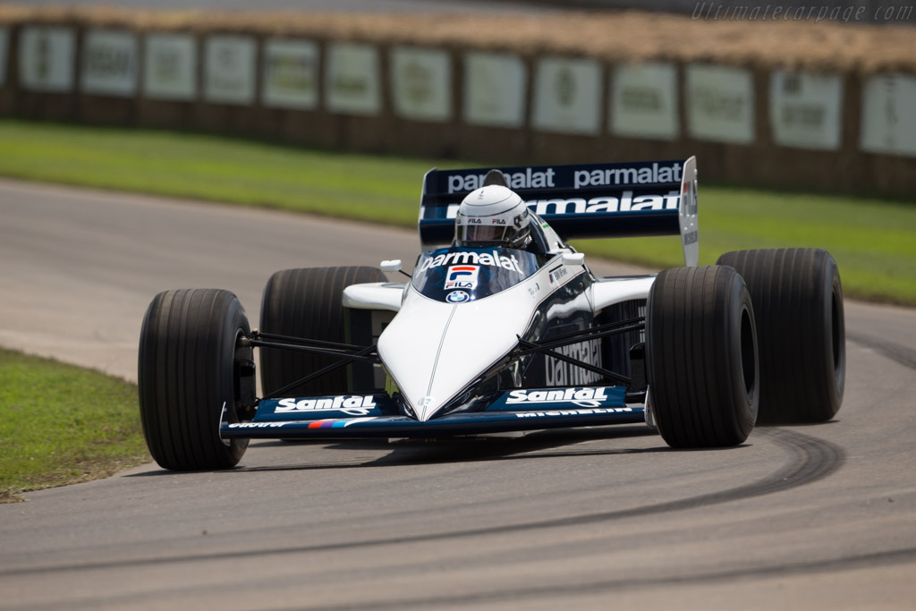 Brabham BT52 BMW - Chassis: BT52-1 - Entrant: BMW Group Classic - Driver: Ricardo Patrese  - 2016 Goodwood Festival of Speed