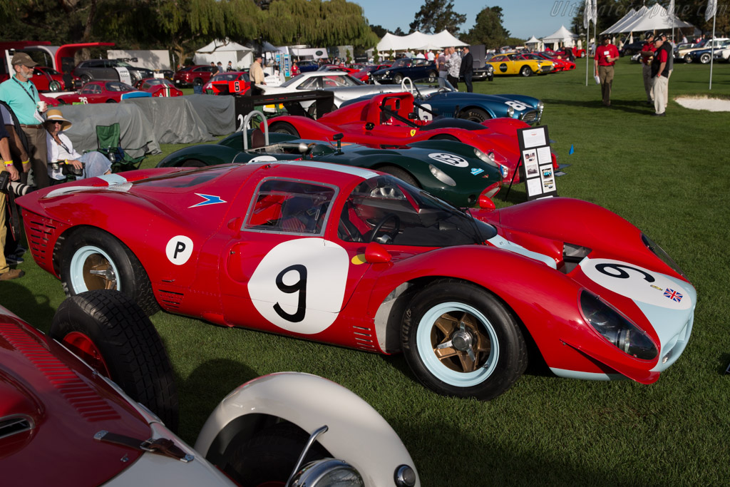 Ferrari 412 P - Chassis: 0854   - 2015 The Quail, a Motorsports Gathering
